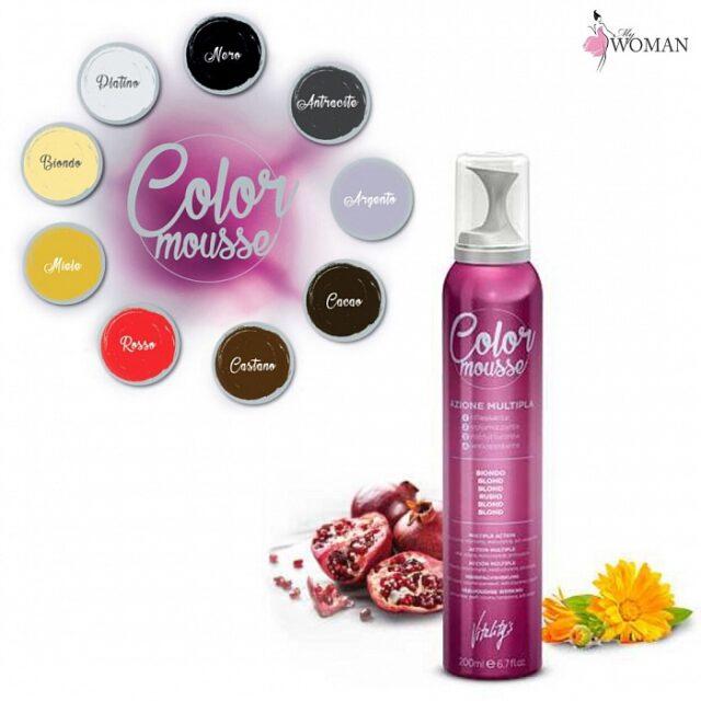Color Mousse+ обновление цвета